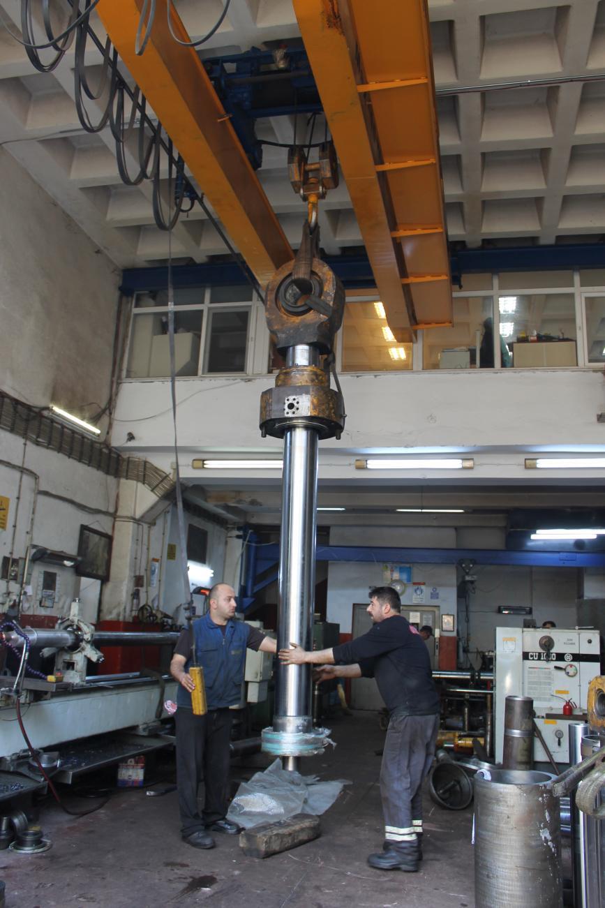 Hidrolik Silindir Revizyonu